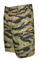 Vietnam Tiger Stripe Camo Men's Bdu Cargo Shorts / 100% Cotton / Tru Spec 4219