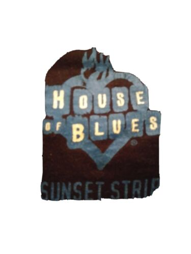 HOUSE OF BLUES SUNSET STRIP Official Vintage where