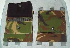 SKS RUSSIAN/ SWISS RIFLE/ butt stock AMMO pouch / BRITISH DPM/ CAMO/ REENACTING