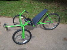 Recumbent Bike Bicycle PLANS build your own, Tall, Trike.