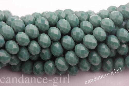 15 Couleurs wholesal Czech Glass Faceted Blotter Bead 4//6//8//10mm À faire soi-même Ornaments