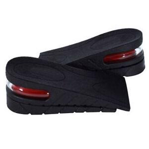 Men-Women-Shoe-Insole-Air-Cushion-Heel-insert-Increase-Tall-Height-Lift-5cm-KY