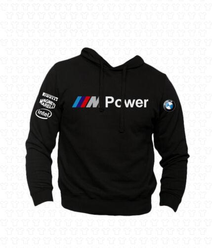 Felpa M Power Hoodie BMW Gran Turismo Touring Cup WRC Gara Motori Auto Car Mod2