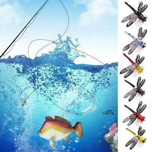 Popper-Fishing-Bait-Lure-Life-like-Dragonfly-Floating-Fly-Fishing-Flies-US