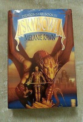 Skybowl, Dragon Star Trilogy #3, Melanie Rawn 1993 HCDJ 1st Edition 1st Printing