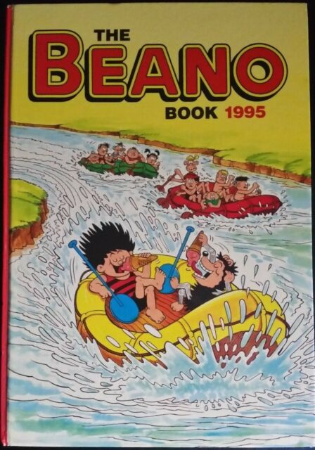 The Beano Book 1995 - U.K Comic Annual Hard-back - FULLY ILLUSTRATED Collectable