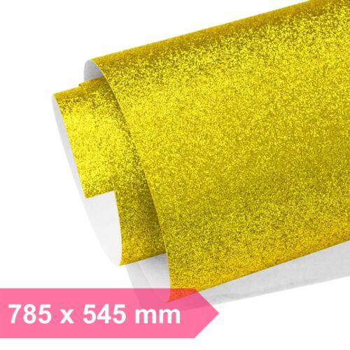 Glitzer Papier Gold Glitzerpapier Glänzend Bastelpapier Geschenkpapier Glitter