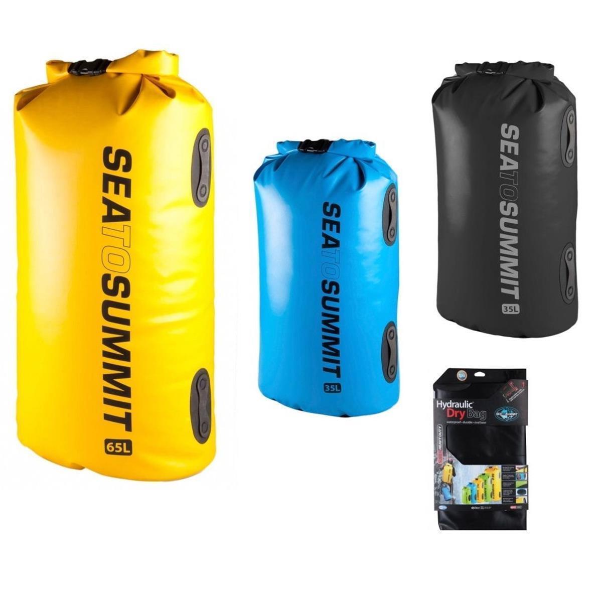 Sea to Summit hydraulic DRY BAG SACCO   65 LITRI-giallo