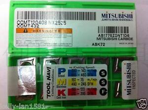 MITSUBISHI CCMT120408 NX2525 CCMT432 Cermet inserts 10Pcs New