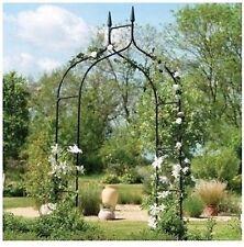 BLACK Archway Wedding GOTHIC Arch Reception Decor Arbor Prom Party Garden Patio