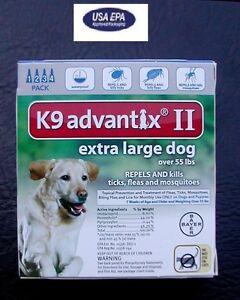 Bayer K Advantix Ii Extra Large Dog