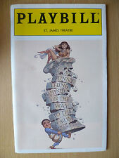 1996 PlayBill ST.JAMES Theatre- A FUNNY THING HAPPENED ON THE WAY TO THE FORUM