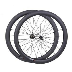 25mm-wide-Sapim-CX-RAY-50mm-Carbon-Clincher-Wheelset-700C-Road-Bike-Rims-UD-matt