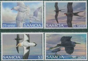 Samoa-1988-SG798-801-Bird-set-MNH