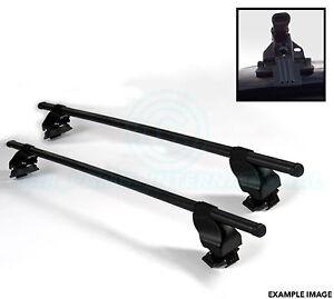 2x Oval Dachträger Mit Halterung - Für Leitern Fahrrad Ski Usw. Von Siepa - F27