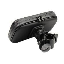 1x Motor Handlebar Mount Waterproof Bag Case Holder For Mobile Phone GPS Pad zyx