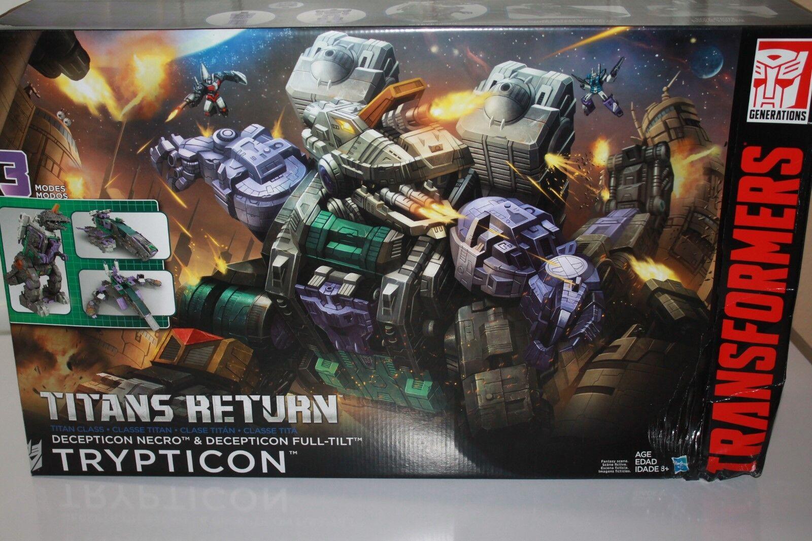 Transformers Trypticon Titans  Retour Boîcravater Endommagé  prix les plus bas