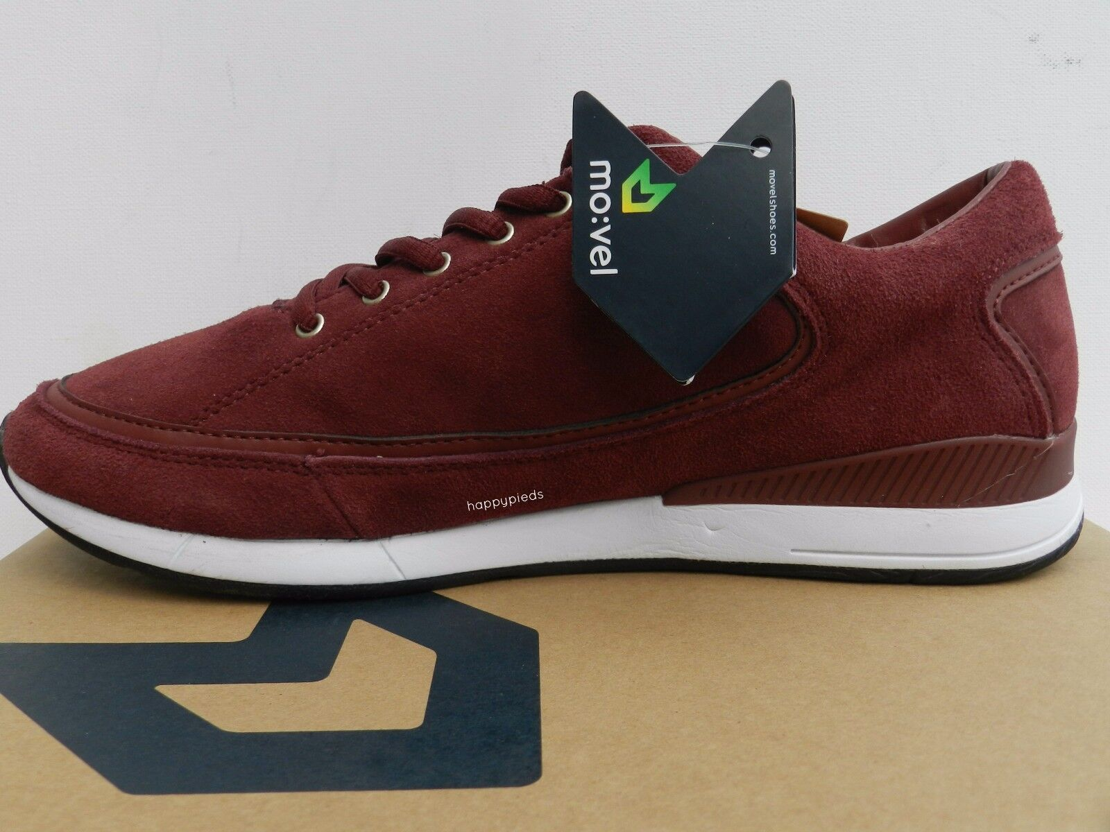 Movel Sao Paulo Trainers Zapatos Hombre 41 Baskets Tennis Cuir Trainers Paulo Jogger Mo:vel d19b1c