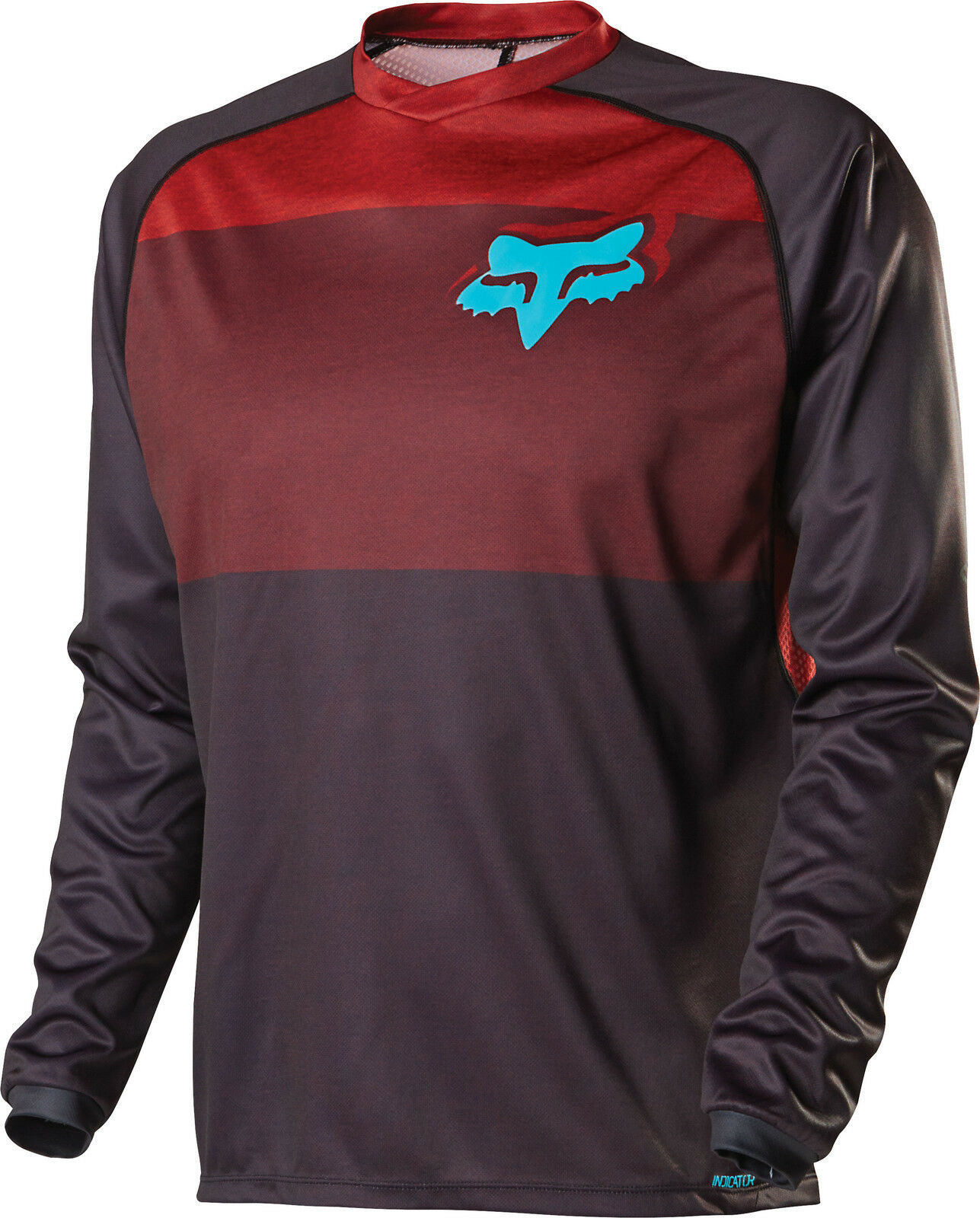 Fox Racing '15 Indicator L S Long Sleeve Jersey Red