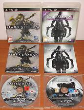 Darksiders Collection (1 & 2 / II) Vigil Games, PlayStation 3 PS3, Pal-España