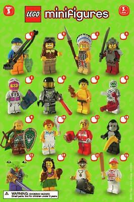Lego Personnage Sammelfigur 8803 série 3 de votre choix