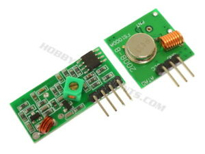 433MHz Wireless Transmitter and Receiver Modules MX-FS-03V & MX-05