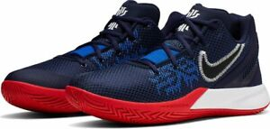separation shoes 91bd3 5fa8f Details about Nike Kyrie Flytrap 2 Blue/Red/White USA II Kyrie Irving  Basketball 2019 All NEW