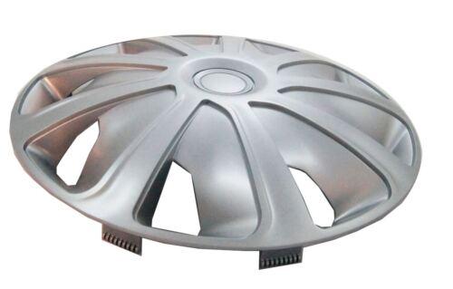 UKB4C 4x Silver 15 Inch Deep Dish Van Wheel Trims Hub Caps For Citroen Nemo