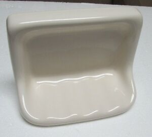 Bone Ivory Ceramic Tub Soap Dish Ebay
