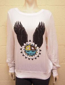 l 846881031876 Nuovo Dream Eagle Couture Wildfox Beach maglione Baggy Zxrx8wz0q