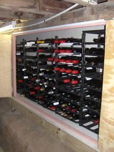 120 Bottle Vinrac Wine Rack Modular Cellar Racks