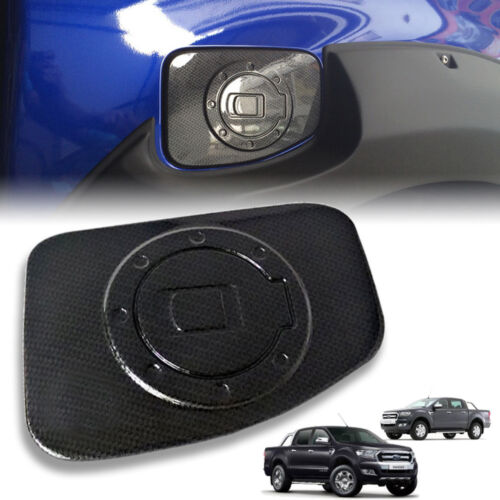 COVER FUEL OIL CAP GAS TANK CARBON FOR FORD RANGER T6 PX2 MK2 20122018