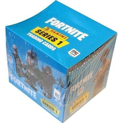 2019 Fortnite Panini Trading Cards Serie 1 50 Booster = 300 Karten