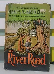 The-river-road-Frances-parkinson-keyes-hardcover-dustjacket-old-antique-book