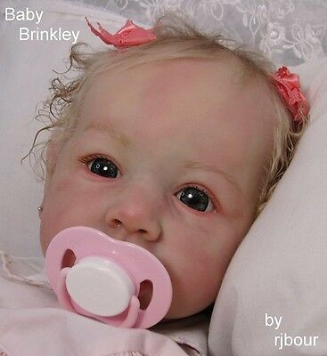 rjbour Joe Bourland BABY Brinkley REBORN Newborn Saskia by Bonnie Brown