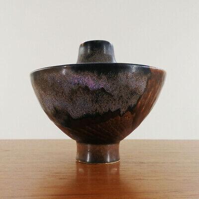 Till Sudeck Studiokeramik Keramik Vase German Studio Art Pottery 1960/70's Dauerhafte Modellierung