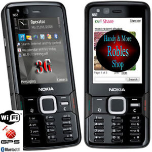Nokia-N82-Black-Ohne-Simlock-5MP-Zeiss-WLAN-3G-GPS-Original-Finland-TOP-OVP