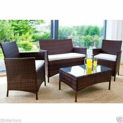 Rattan Garden Furniture 3 Seater Wicker, Clearance Patio Furniture