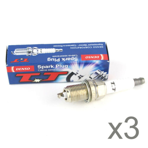 4602 3x Genuine Denso TT Nickel Twin Tip Spark Plugs W20TT Part No