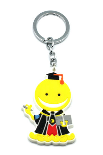 Assassination Classroom Cosplay Costume Accessory Cute Koro-Sensei V1 Key Ring