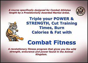 Details about Combat Strength Conditioning Workout Course Matt MMA Furey  BeachBody Fitness