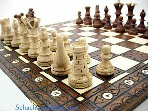 ROYAL-LUX-LARGE-WOODEN-CHESS-SET-HANDCRAFTED-BOARD-21