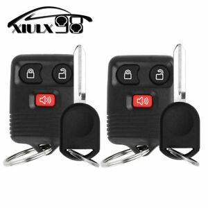 2-New-Keyless-Entry-Remote-key-Fob-for-CWTWB1U345-40-Bit-Ignition-Chipped-Key