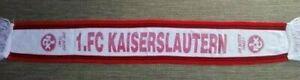 retro 1.FC KAISERSLAUTERN schal scarf ultras szene BETZENBERG 1860 Fußball HSV