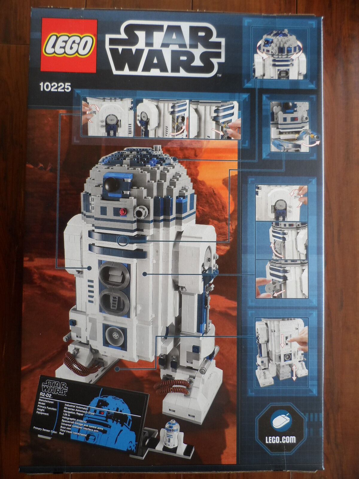 NEW AND FACTORY SEALED STAR WARS ULTIMATE COLLECTOR SERIES SERIES SERIES LEGO SET 10225 R2-D2 aa94ef