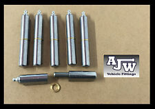 6 Lift Off Bullet Hinges 100mm Grease Nipple Weld On Carbon Steel Truck Trailer