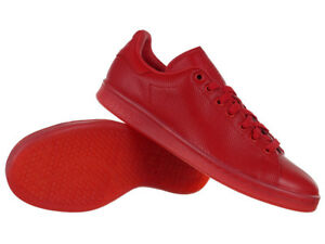 Details about adidas Originals Stan Smith Adicolor Red Trainers Unisex Sneakers Shoes Sport