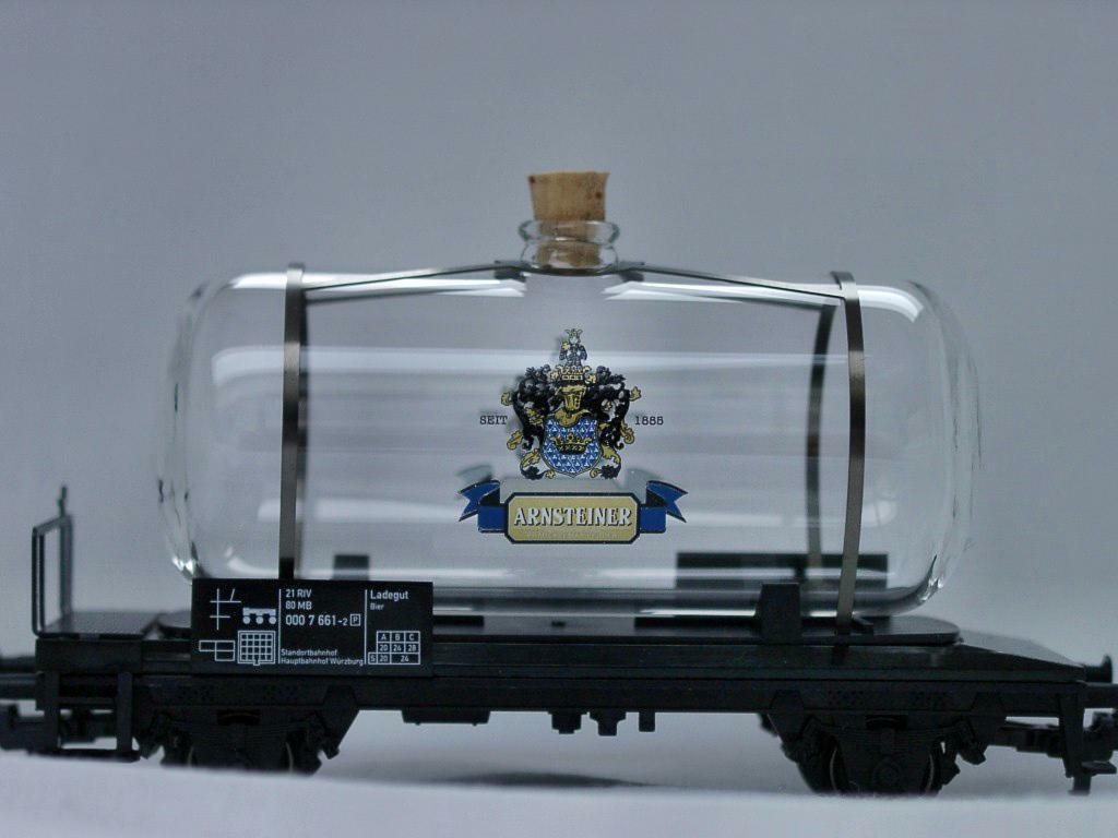 MÄRKLIN MÄRKLIN MÄRKLIN Glaskesselwagen HO limitierte Auflage ARNSTEINER  | Modern Und Elegant In Der Mode  331660