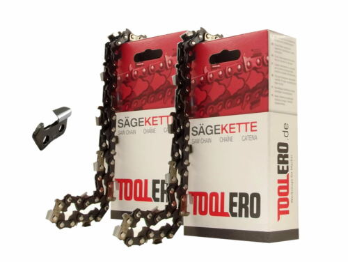 2x35cm Toolero Lopro HM Kette für Einhell KSE1635 Motorsäge Sägekette 3//8P 1,3