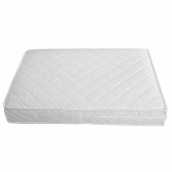 iSafe Zapp And Nap Luxury Square Travel Cot With Luxury Foam Mattress